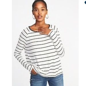 Old Navy Luxe striped Top